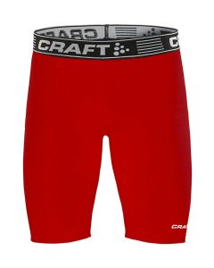 Craft Pro Control Compression Tights Uni-Rød-XS