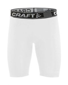Craft Pro Control Compression Tights Uni-Hvid-XS